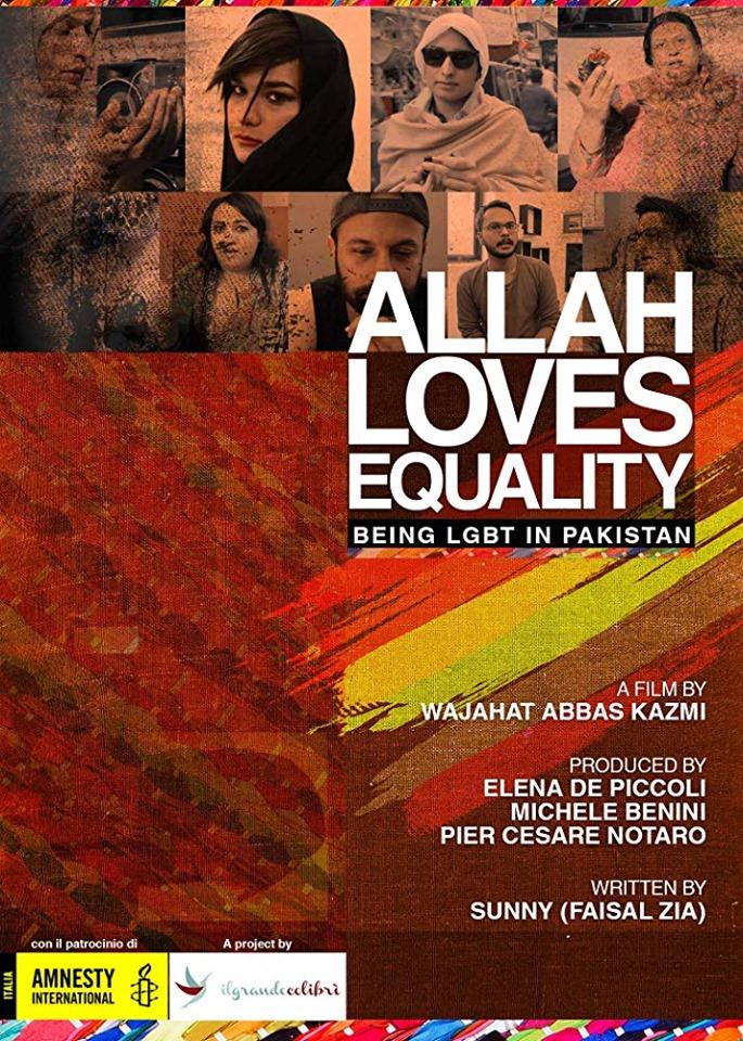 Allah Loves Equality documentary film poster