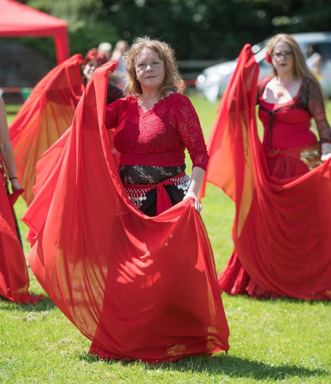 Ann Wear from Hathor Belly Dance Troupe